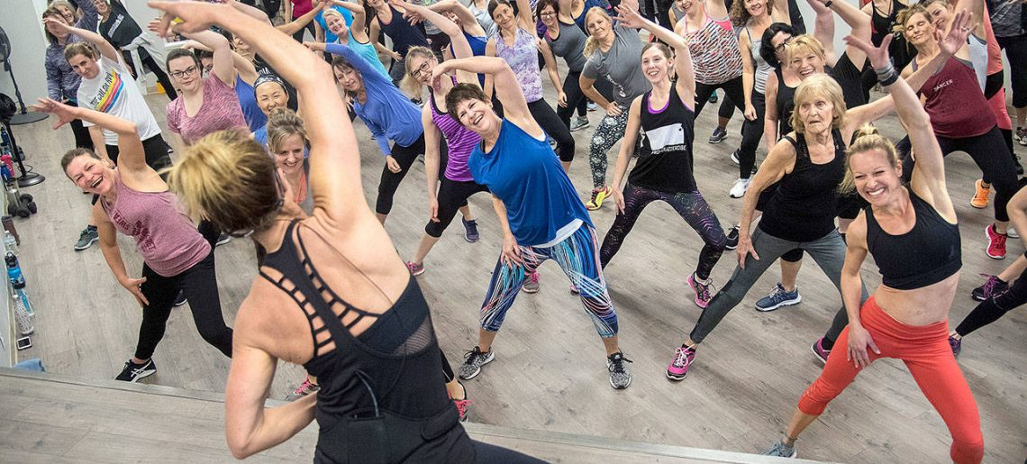 Young Pros Try It: Jazzercise