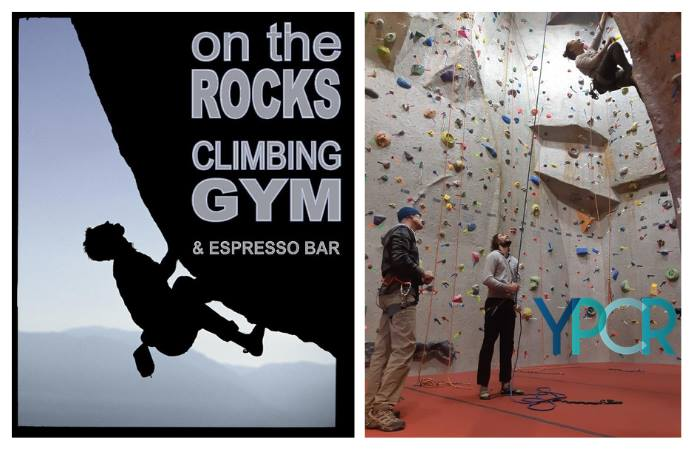 Young Pros Try It: Indoor Rock Climbing